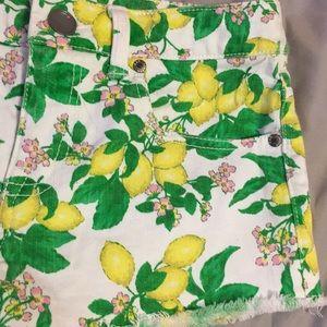 Victoria's Secret Shorts - Victoria's Secret lemon shorts size 0
